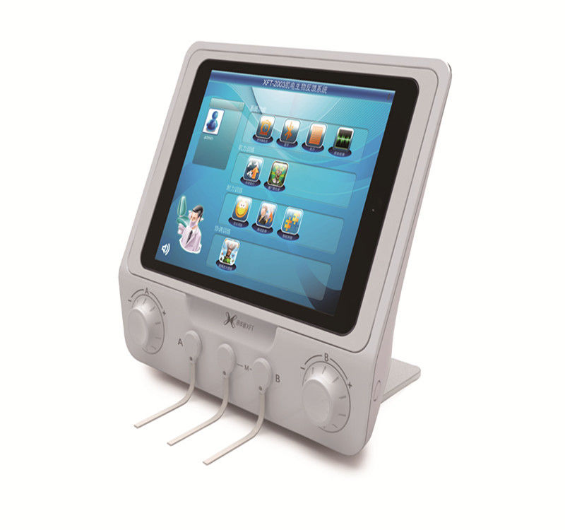 Emg Biofeedback Machine For Hemiplegia Patient , Adjustable Portable Biofeedback Device