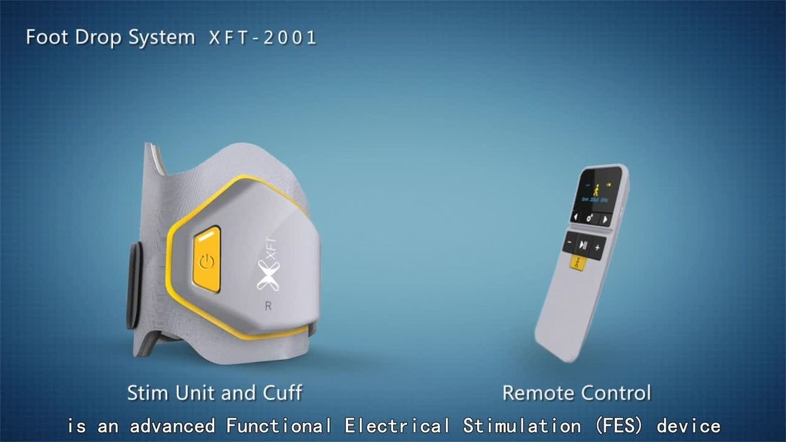 Foot Drop System XFT-2001D Walk Aid System Foot Drop Stimulator FES Device with Bluetooth Connection