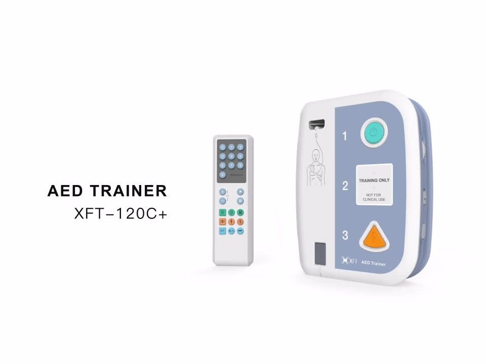AED Trainer XFT-120C+ 16 Languages Support AED Trainer Device Pack for First Aid Training