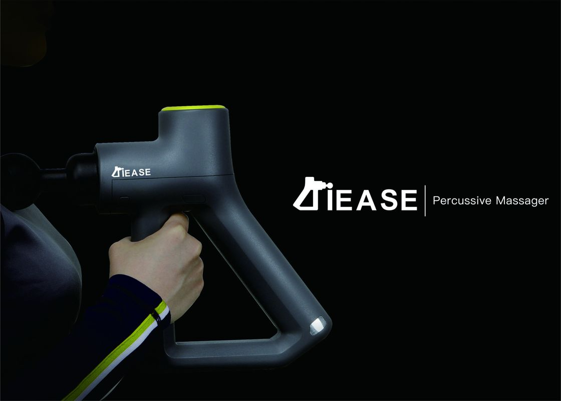 iEase Percussive Massager XFT-2020A Electric Handheld Quiet Back and Neck Body Muscle Percussion Massager