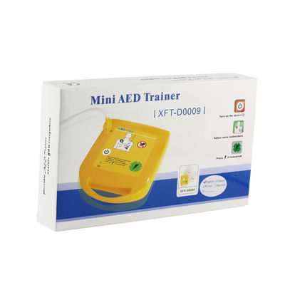 Automated External AED Trainer Defibrillator Trainer Compact Size Easy Carry