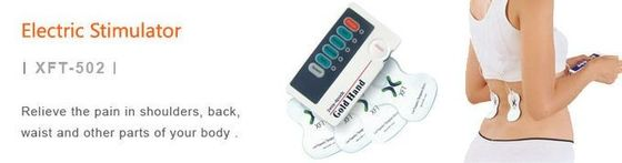 China Dual Channel Electric Tens Machine , Easy To Use Portable Tens Massager factory