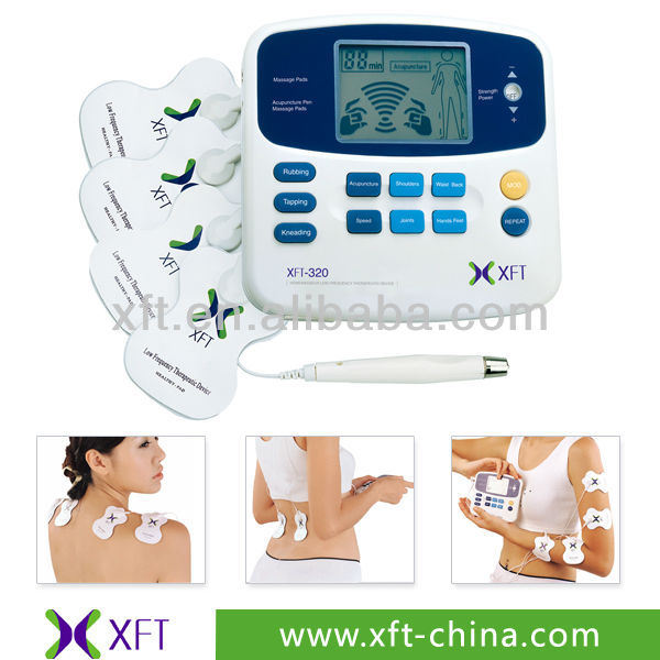 CE ISO13485 manufacturer TENS acupuncture digital therapy machine massager