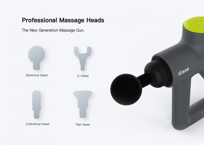 Percussive Body Massage Device Handheld 24V Deep Tissue Muscle Vibration Gun